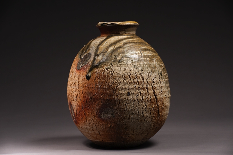 Wood fired Ceramic pot